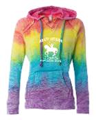 RAINBOW V-NECK SWEATSHIRT