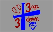 3 UP 3 DOWN BAT