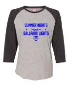 SUMMER NIGHTS GREY BASEBALL