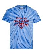 BLUE DEVIL GIRL ROYAL TIE-DYE