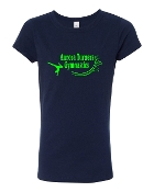 NAVY LADIES CREW TEE