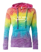 RAINBOW BURNOUT SWEATSHIRT
