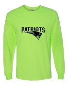 NEON GREEN UNISEX LONG SLEEVE