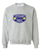 SHIELD GREY CREW SWEATSHIRT