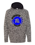 CIRCLE CHARCOAL COSMIC SWEATSHIRT