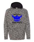HELMET CHARCOAL COSMIC SWEATSHIRT