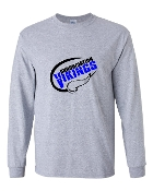 SPORTS GREY LONG SLEEVE TEE