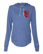 EMBROIDERED ROYAL CHAMPION TRIBLEND PULLOVER