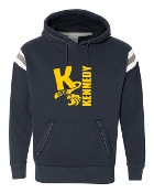 BIG K NAVY PREMIUM VINTAGE HOODED SWEATSHIRT