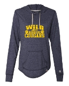 WILD ABOUT NAVY CHAMPION TRIBLEND PULLOVER