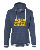 WILD ABOUT NAVY LADIES RELAY SWEATSHIRT