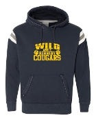 WILD ABOUT NAVY PREMIUM VINTAGE HOODED SWEATSHIRT